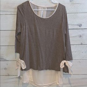 Women's Sz L Lauren Conrad Blouse